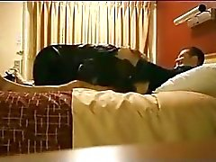 My chubby Mom with BF in bedroom spy tape