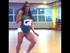 tjock brasilianska dans