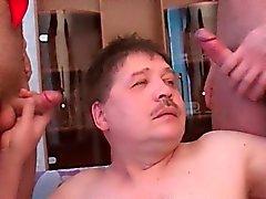 Fette Homosexuell Verkostung Schwänze mit Leidenschaft