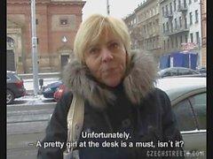 Czech maturo raccolto sul via