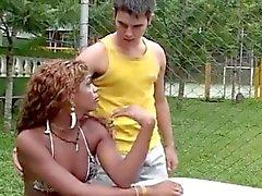 Hot Ebony Shemale
