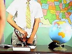 Hombres los homosexuales Krys Pérez cumple un El profesor súper traviesa que está pies cúbicos