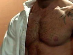 Muskelbjörn analsex och ansiktscum
