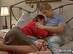 Britischen Mütter Bei Teenager Typ
