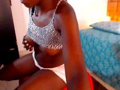 Webcam üzerine Abanoz yalnız fışkırtma