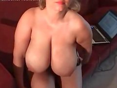 Sam 38G Plays With Her Nipples
