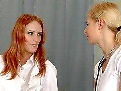 Ärztlichen Untersuchung zwei