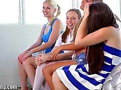 WebYoung Lola Foxx's Lesbian Teen Foursome