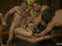 Muscle Guy, İşkence ve Fucked Tied Up Get
