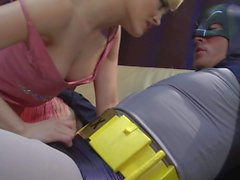 Curvy Alexis Texas rides batman s meat pole