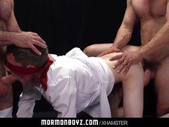 MormonBoyz - Молодой миссионер, заполненный двумя папой монстра co