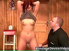 Rotschopf Milf Bondage