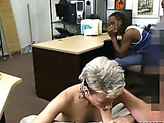 Black cuckold pawns his latina girlfriend