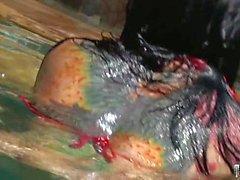 Big Tits Babe gefickt im Wasser
