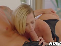 VIXEN Jada Stevens tries enormous cock in her ass and gapes
