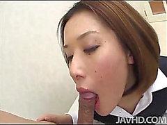 Kontoret skönhet för Emi Orihara sexig könsbestämmer