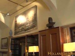 Голландский проститутка сосет петух