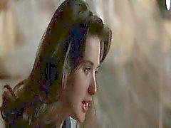 Demi Moore à cheval sur Michel de Douglas alors qu'elle le séduire