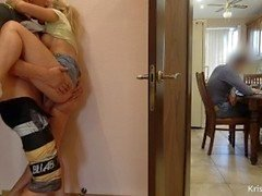 Fuck and Blowjob Step Brother Daddy Next Room Trabajando