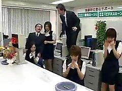 Pornô japonês WTF no escritório!