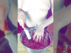 Cuisson au safran! Sexy Snapchat samedi - 18th Juin 2016