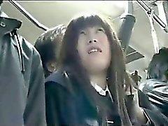 buss könsbestämma med asiatisk kvinna