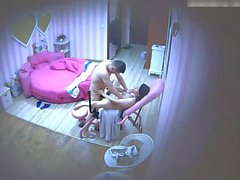 chinese mature middle-aged daddy with wife