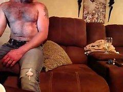 Amateur Blonde MILF bandes pour Webcam