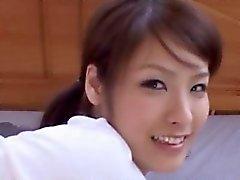 Sexy da menina bonita coreana Ter Sexo