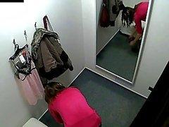 Schöne Tschechische Teenager gesnoopt im Umkleide !
