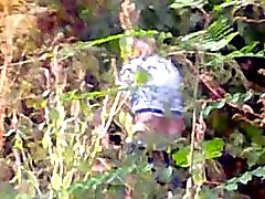Шлюха с клиентом поймали по лес