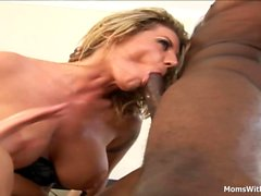 Busty Blonde Maduras Kayla Quinn Fucks BBC