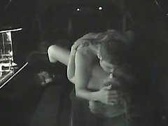 Young couple fucking in limo Onie from 1fuckdatecom