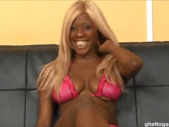 Ghetto ho Baby Doll throated and used hard