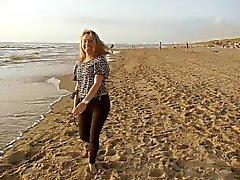 Sera su spiaggia con il Andreea