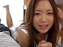 la belleza busty Mayuka de Akimoto demostración pornografía espléndido del POV