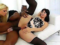 Extreme anale modellen en brutale zwarte cok