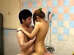 Linda sedutor do coreanos Garota Bater com
