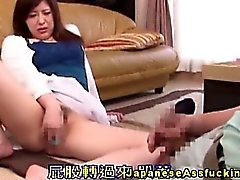 Asian nippon handles anal beads