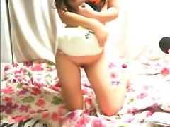 Schönheit japanischen jugendlich Chat, der nackt ist
