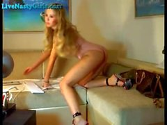 Amazing Webcam Show From Stunning Model