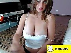 Stygg prostitute får fångad av kamerans
