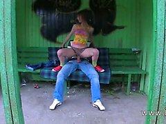 Нашей первой травы секс на автобусного вокзала