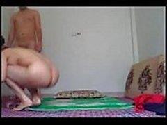 Iranilainen homemade seksi - mirri vittu sekä imevien