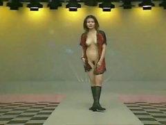 Oldukça Tayvanlı kadınlar - sahnede