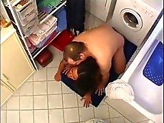 Bathing Turk Wench prefers Big Nordic-German Penis Size