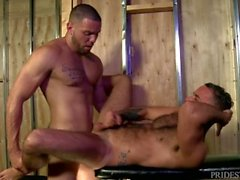 MenOver30 Hairy Hunk Papa von Muscle Latino Jock Analized