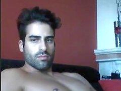 Portugiesisch dude zeigt
