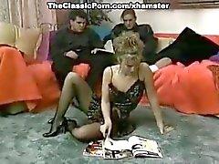 Jamie Leigh, Marc Wallice, TT Boy in dp fuck with nude model