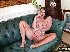 Big tits pornstar nylon ja cumshot